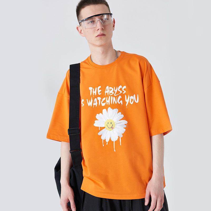 半袖 ファッション 2020新作 SALE プリント シャツ カジュアル Tシャツ メンズ ラウンドネック