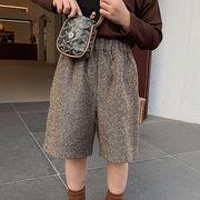 INS秋新作☆韓国子供服☆女の子 3-8歳キッズ☆五分丈 ワイドパンツ☆ズボン ガウチョパンツ☆80-130cm