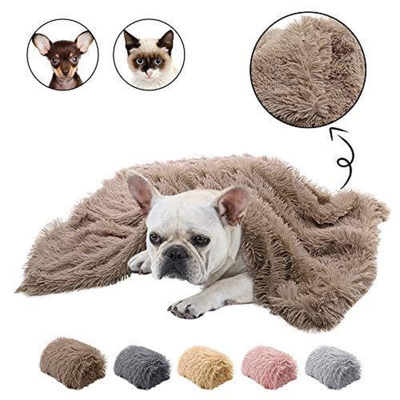 ペット用品 毛布 絨毯 ラグ 起毛 フェイクファー あたたかい 保温 防寒
