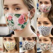 レディース向けマスク・綿のマスク・マスク・UV対策・防塵・焼け防止・通気性・軽薄