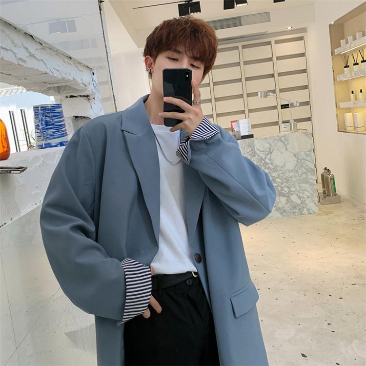 今シーズン大注目!韓国ファッション ジャケット スーツ 男性 学生 タイドファッション ハンサム