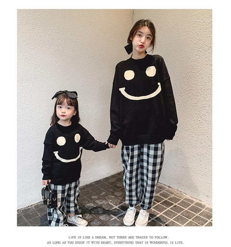 【KID】秋新作 親子服 ファッションセーター 全2色