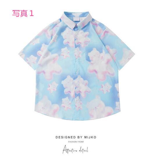 P10325 紫外線対策 日焼け止め 10色 メンズ ファッション 渋谷風 半袖 シャツ T-シャツ 男女兼用 SALE