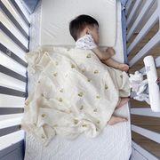 新型★人気 赤ちゃん が毛布をかける エアコン付き布団 ★二重、四重