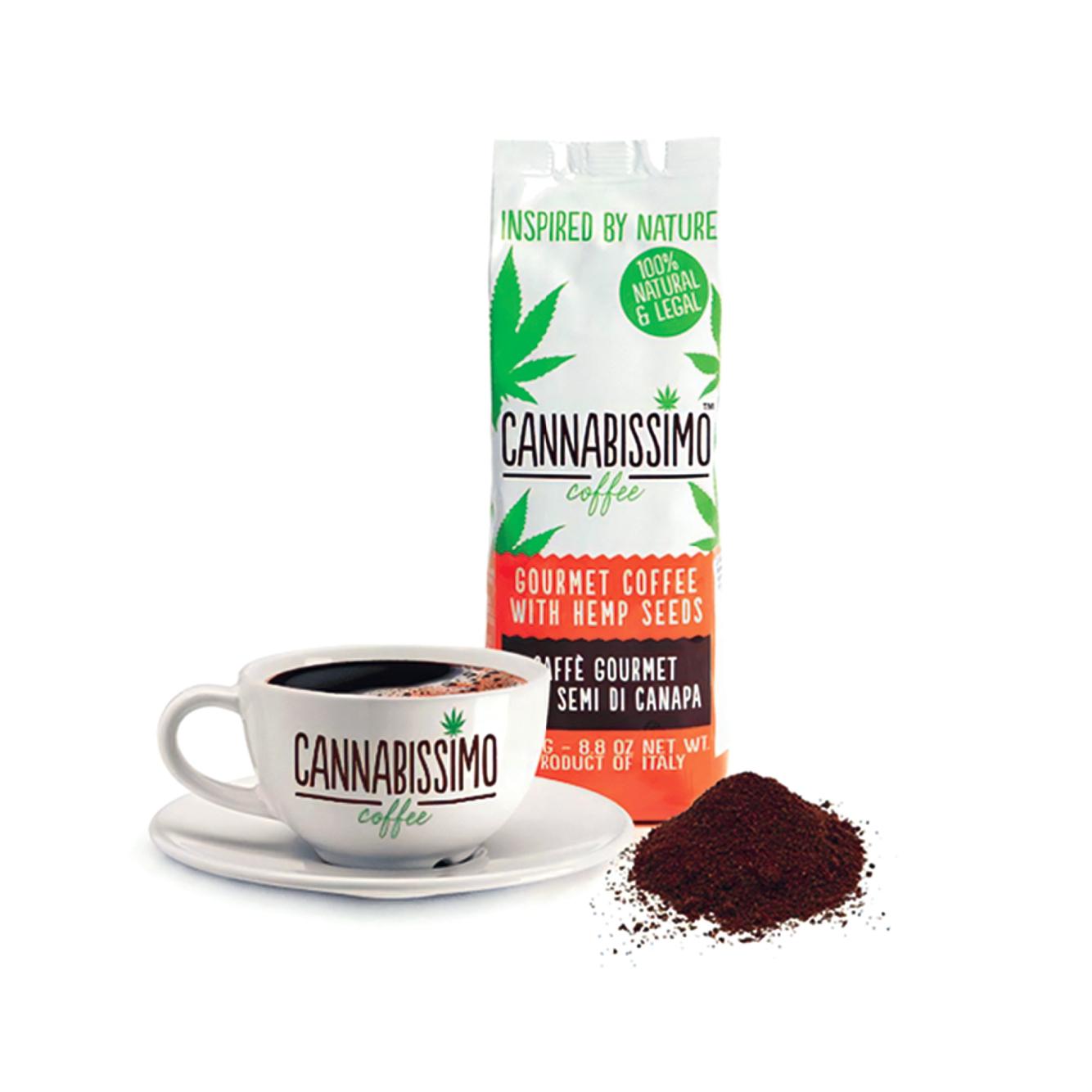 世界で注目されるヘンプシード(麻の実)を含有したカンナビッシモコーヒー