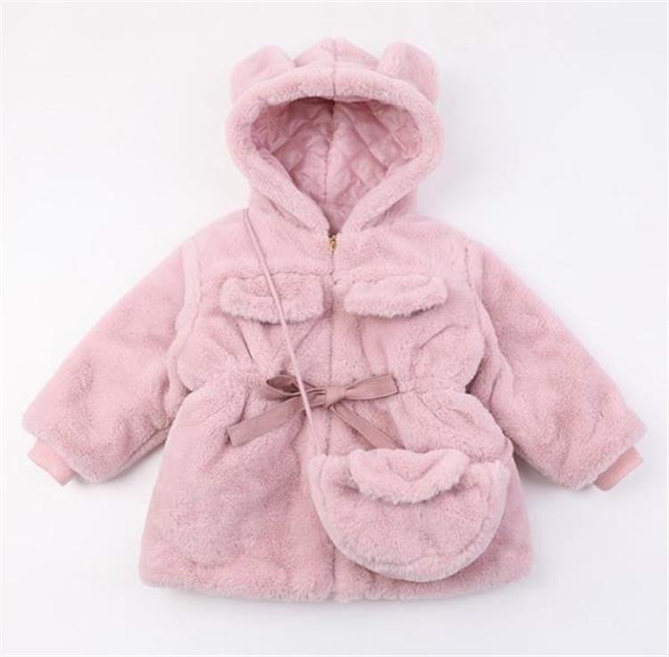 注目すべきアイテム 韓国ファッション 冬服 シンプル 子供 新作 外国風 コート 綿 子供服 sweet系