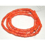 珊瑚(染色) 円柱 連販売 約10×10~15mm