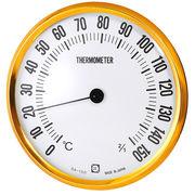 クレセル 乾式サウナ用温度計 壁掛け用 直径15cm