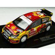 ixo/イクソ シトロエン C4 WRC 2010年ラリーメキシコ 2位 #11 P.Solberg/P.Mills
