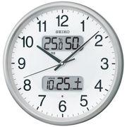 【新品取寄せ品】セイコークロック 電波掛時計 KX383S