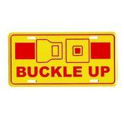 アメリカン雑貨★看板★直輸入★シートベルトをお締め下さい★BUCKLE UP★