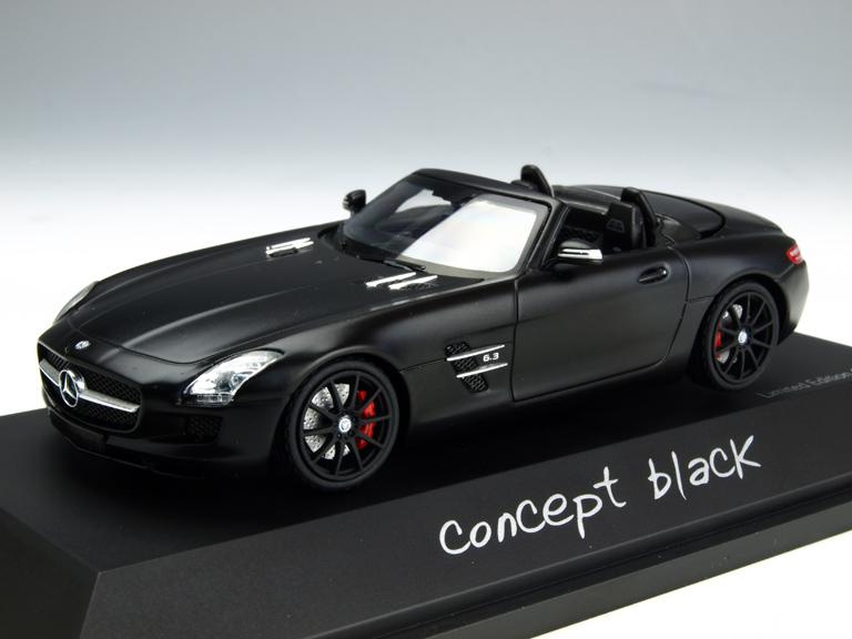Schuco/シュコー メルセデス・ベンツ SLS AMG ロードスター コンセプトブラック