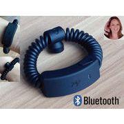 FISHI20ばね式通話可能Bluetoothブレスレット||ブラック