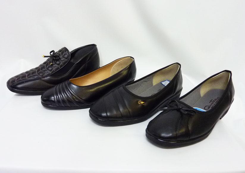 【日本製】おばあちゃんに喜んで欲しいから。。シニア・シルバー高齢者向婦人靴パンプスおまかせセット