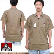 BEN DAVIS 【ベンデイビス】 ハーフZip 半袖シャツ / Short Sleeve Shirt
