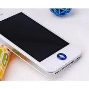 iPhone&ipad&itouch用■メタルシール■ホームボタンシール■マイク&ブルー