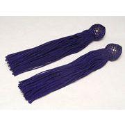 数珠用 頭付き房(人絹)紫