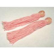 数珠用 頭付き房(人絹)ピンク