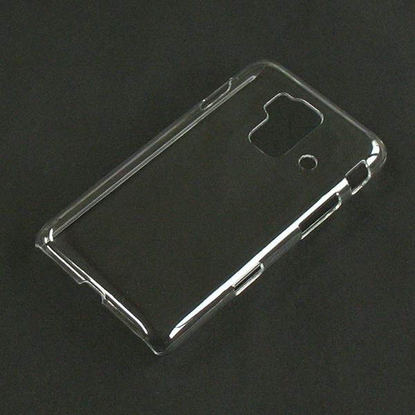 【SH-05E/PC】ドコモ スマートフォンforジュニア クリア(透明色)ハードタイプPC素材