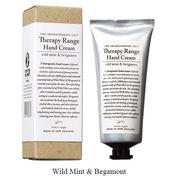 Therapy Range セラピーレンジ ナリシングハンドクリーム ワイルドミント&ベルガモット