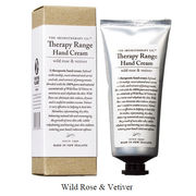 Therapy Range セラピーレンジ ナリシングハンドクリーム ワイルドローズ & ベチバー