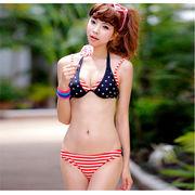 激安!!可愛い水着◆泳ぎ服◆セクシー◆ビキニ◆ワイヤー ある◆スカート◆スター◆セパレート3セット
