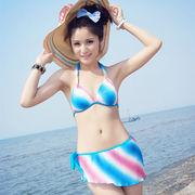 激安!!可愛い水着◆泳ぎ服◆ビキニ◆スカート◆ホルター◆セパレート◆シャーリング◆セクシー◆3色