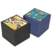 友禅紙折り紙 (豆) 黒系 100枚箱入