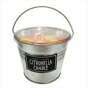 kameyama candle シトロネラカラーバケツL 「 イエローMIX 」 キャンドル