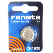 RENATA CR1620 (DL1620 ECR1620 KECR1620-1  SB-T17 280-208 EA) / 電卓、カーリモコンキーレス