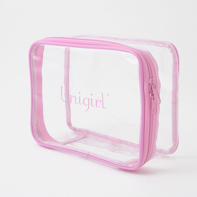 透明PVCポーチ コスメポーチ OEM製造 名入れ・ロゴ入れ・印刷可能【単品販売可能】