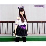 1145F★MB■送料無料■ ももいろアイドル  乙女 衣装(パープル) サイズ:M/BIG