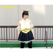 1146C★MB■送料無料■ ももいろアイドル 乙女 衣装(イエロー) サイズ:M/BIG