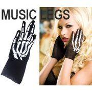 MusicLegs(ミュージックレッグ) スケルトンボーン フィッシュネット アームグローブ 417