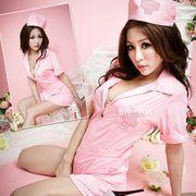 【即日発送】ピンク色  ナース服 コスプレ衣装  ハロウィン【5152/2】