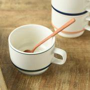 【特価品】サイドストリート 高台スタックコーヒーカップ モスグリーン[B品][美濃焼]