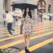 【一部即納】ワンピ ワンピース 花柄 レディース ボトムス シフォン シフォンワンピ