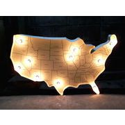 USA MAP LIGHT