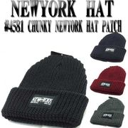 NEWYORK HAT  #4581 Chunky New York Hat Patch 14309