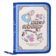 《母子手帳ケース》ふしぎの国のアリス 片面ジャバラマルチケース/ブック型