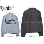 S) 【リップンディップ】 RND180 ジャケット イート ミー デニム ジャケット 全2色 メンズ レディース