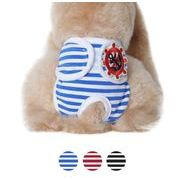 犬服 ペット服 ペット用品 ボーダー柄 パンツ 短パン 清潔作用 生理パンツ