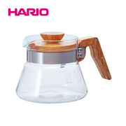 「公式」コーヒーサーバーオリーブウッド 400ml VCWN-40-OV  HARIO(ハリオ)