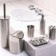 店舗備品にもおすすめ!ステンレス製の洗面&トイレ用品 『シャロン』