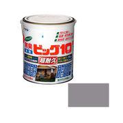 アサヒペン 水性ビッグ10多用途 225ライトグレー 1.6L×5セット