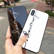 ロゴ 英字 送込 iphone8 8plus iphoneX 7 7plus 6s 6plus ケース