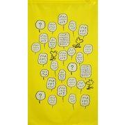 【在庫限り】のれん ピーナッツ スヌーピー「ウッドストック&フレンズ」150cm丈【日本製】コスモ 目隠し