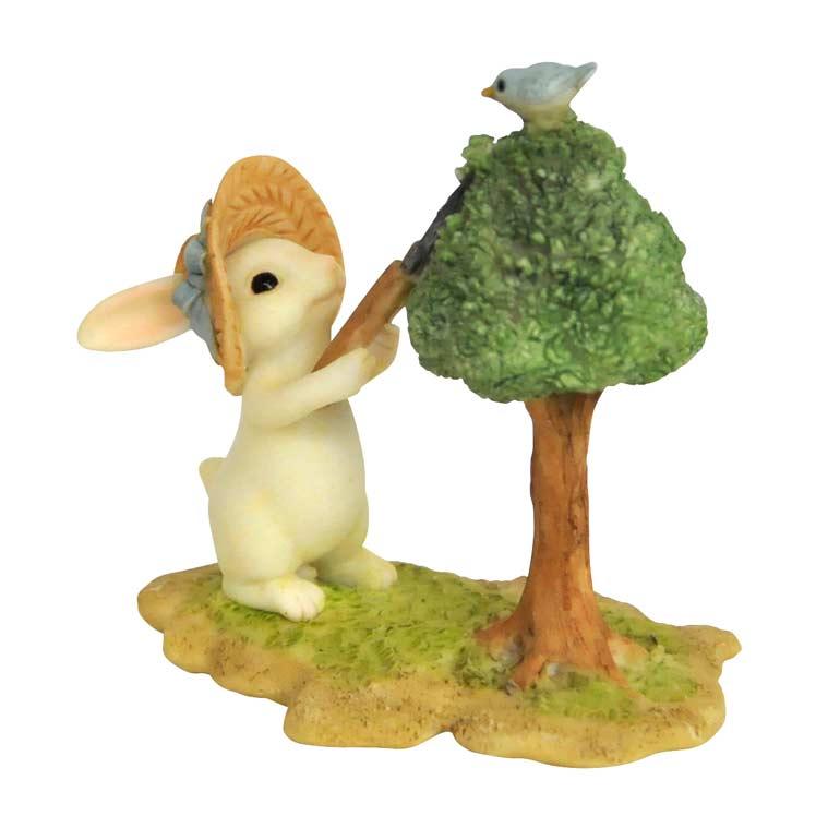 <AMANO>【レジン製ウサギ】ラビット・お手入れ
