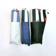 【晴雨兼用】【折りたたみ傘】高度な耐水性&UVカット率99%!ストライプローズ切り継ぎ柄軽量丸ミニ折畳傘
