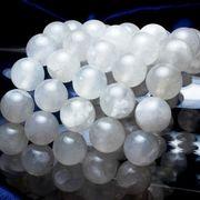 【日本銘石】静岡水晶〈静岡県〉白色 Sランク(トップグレード) 10mm  品番: 11238 [11238]